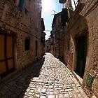 Rovinj - street by Željko Malagurski