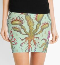 Carnivorous plants Mini Skirt