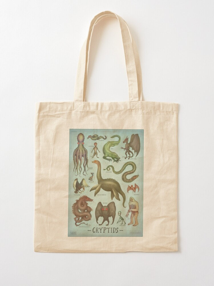 Alternate view of Cryptids Tote Bag