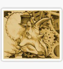 Lord Triceratops - Orange Tone Sticker