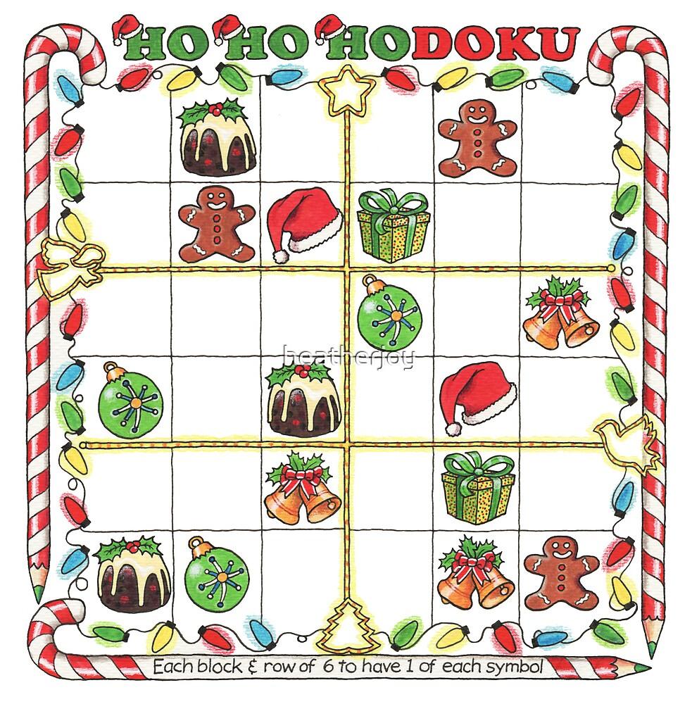 A Merry Christmas Sudoku by heatherjoy
