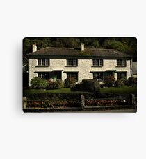 Cottages Canvas Print