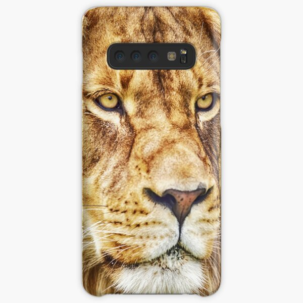 Lion-King of the Jungle, By DAM Creative Samsung Galaxy Snap Case