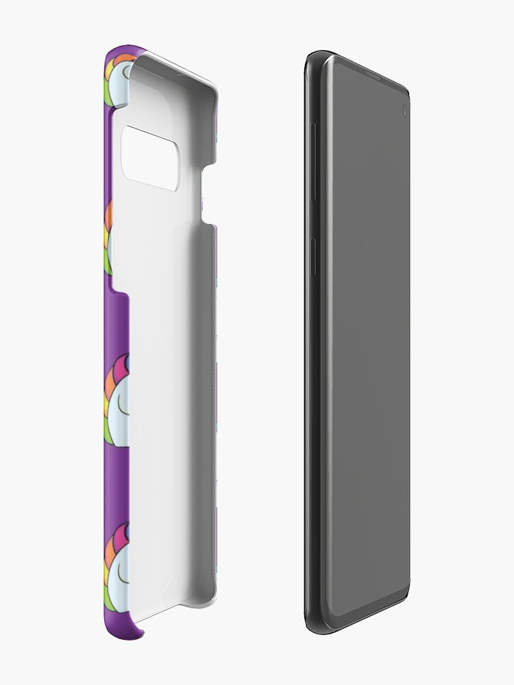 Alternate view of Stabby the Unicorn Case & Skin for Samsung Galaxy