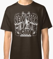 NYC in all its glory Classic T-Shirt