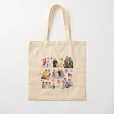 the golden girls Cotton Tote Bag