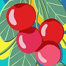 Juicy Fruity, Bunch of Cherries. by Marlagill