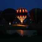 Balloon Glow by Don Baker
