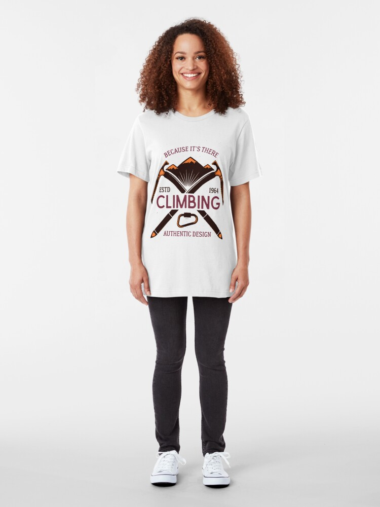Alternate view of Climb that Mountain Slim Fit T-Shirt