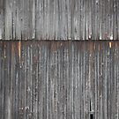 Weathered Barn Side by Don Baker