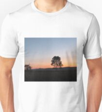sunrise in the countryside T-Shirt