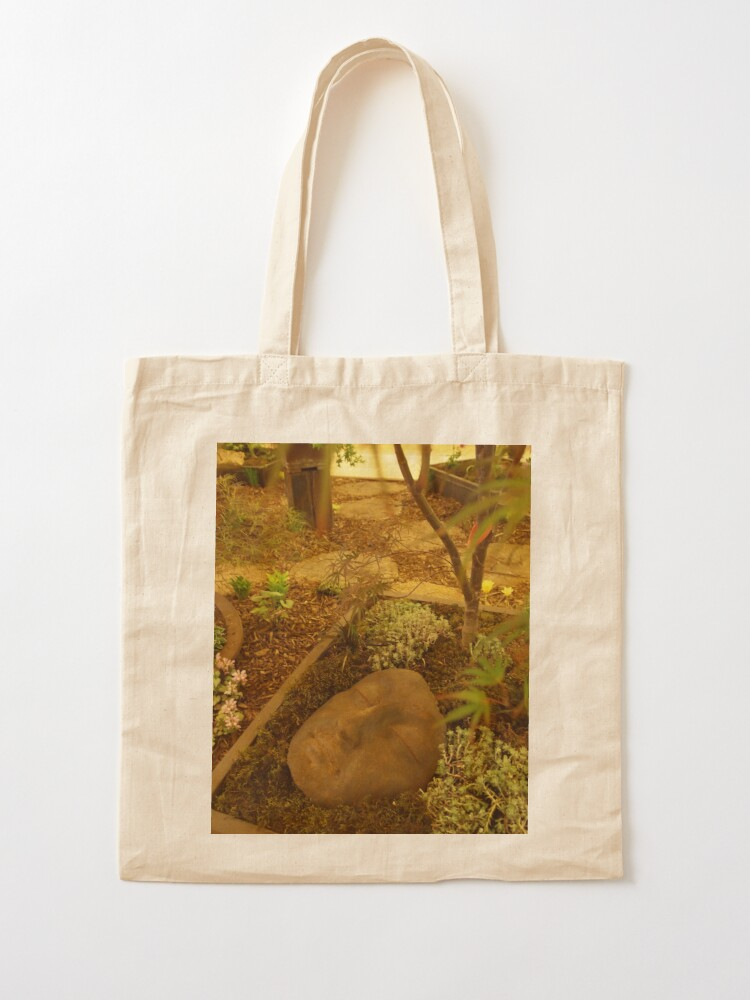 Alternate view of A Face in the Garden  Tote Bag