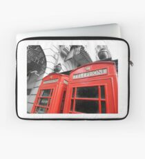 Red London Laptop Sleeve