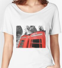 Red London Women's Relaxed Fit T-Shirt