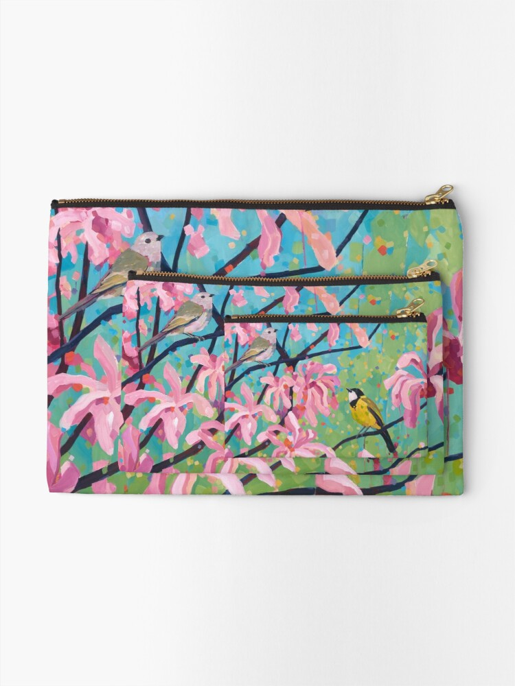 Alternate view of A New Place to Sing Zipper Pouch