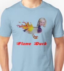 Parks and Recreation Flame Duck Slim Fit T-Shirt