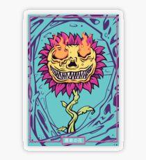 Doom Flower Transparent Sticker