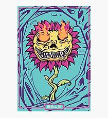 Doom Flower Photographic Print