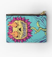 Doom Flower Zipper Pouch