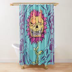 Doom Flower Shower Curtain