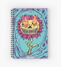 Doom Flower Spiral Notebook