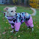 Princess with her new fleece overall by KanaShow