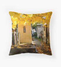 Pere Lachaise Cemetery III Throw Pillow