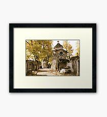 Pere Lachaise Cemetery VI Framed Print