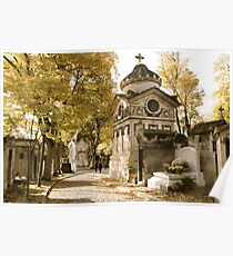Pere Lachaise Cemetery VI Poster