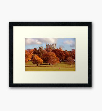 Wollaton Hall and Deer Park Nottingham Framed Print