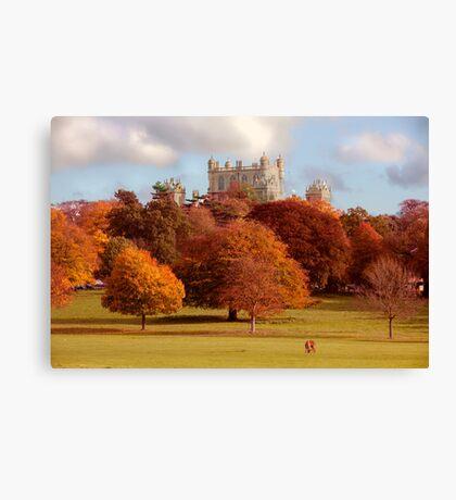 Wollaton Hall and Deer Park Nottingham Canvas Print