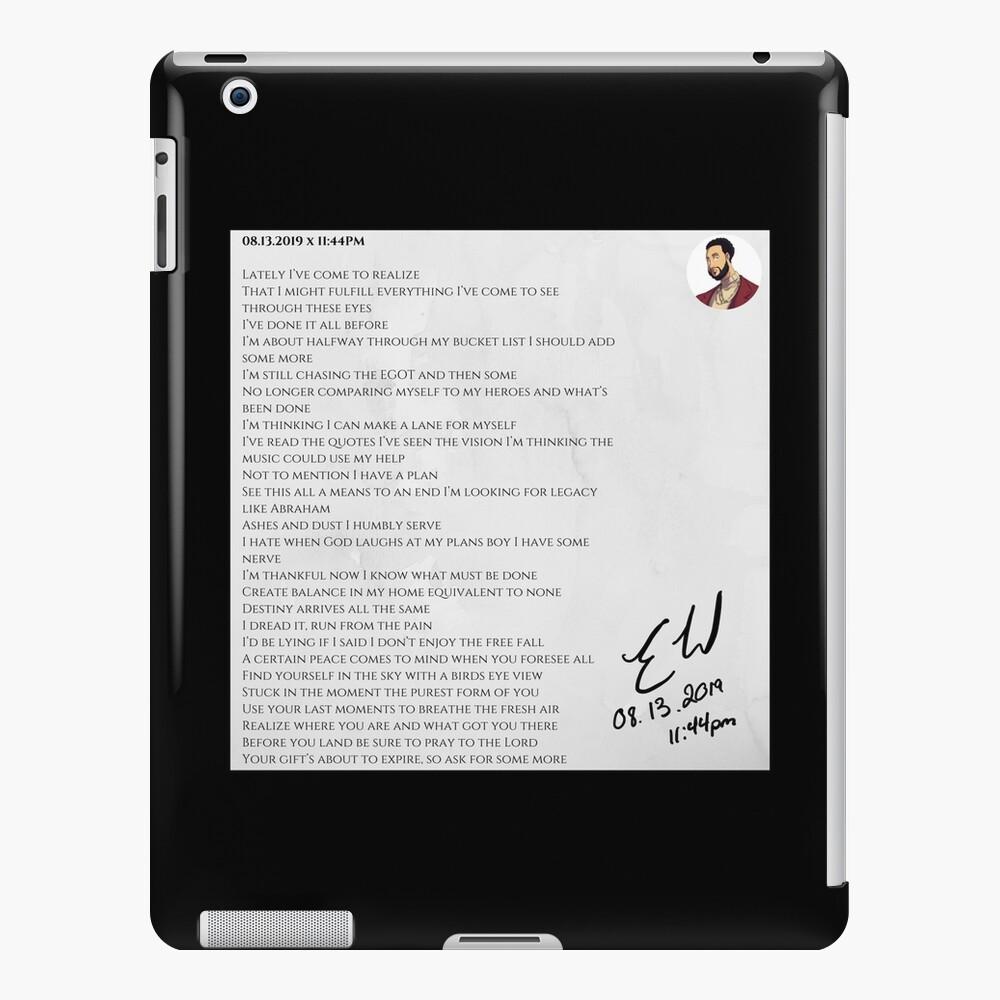 08.13.2019 x 11:44PM iPad Case & Skin