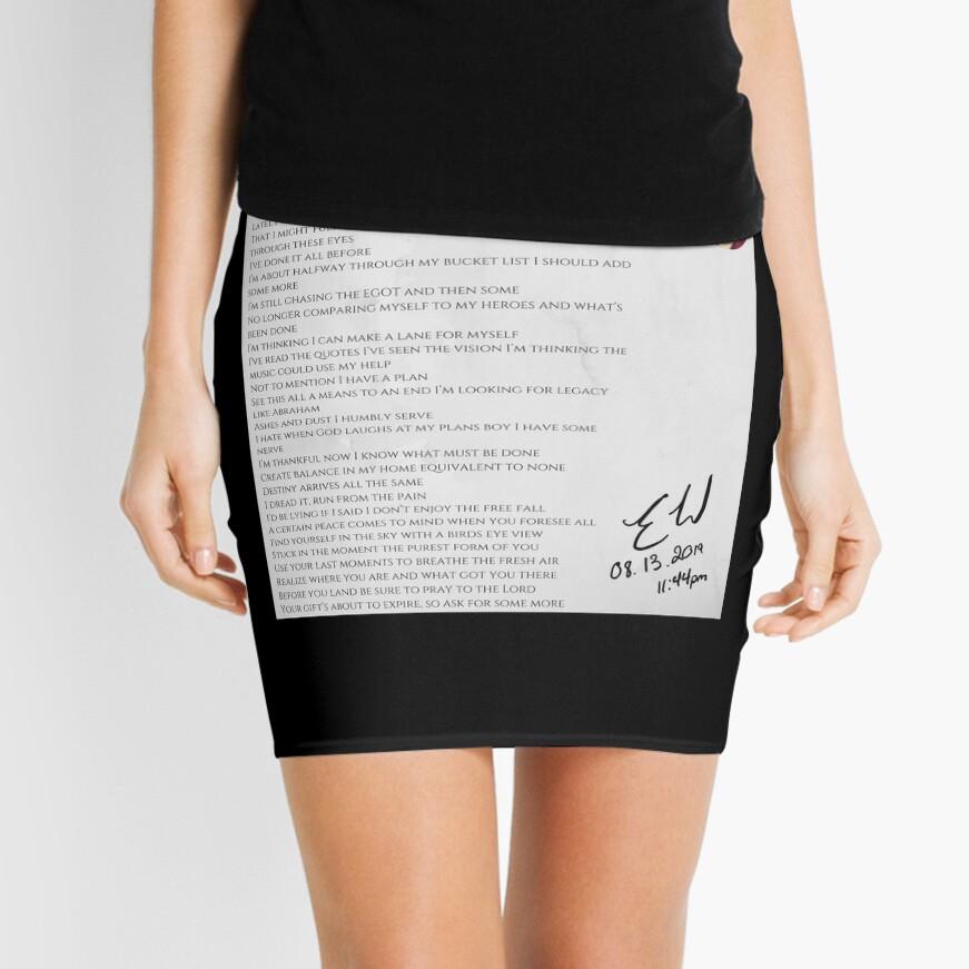 08.13.2019 x 11:44PM Mini Skirt