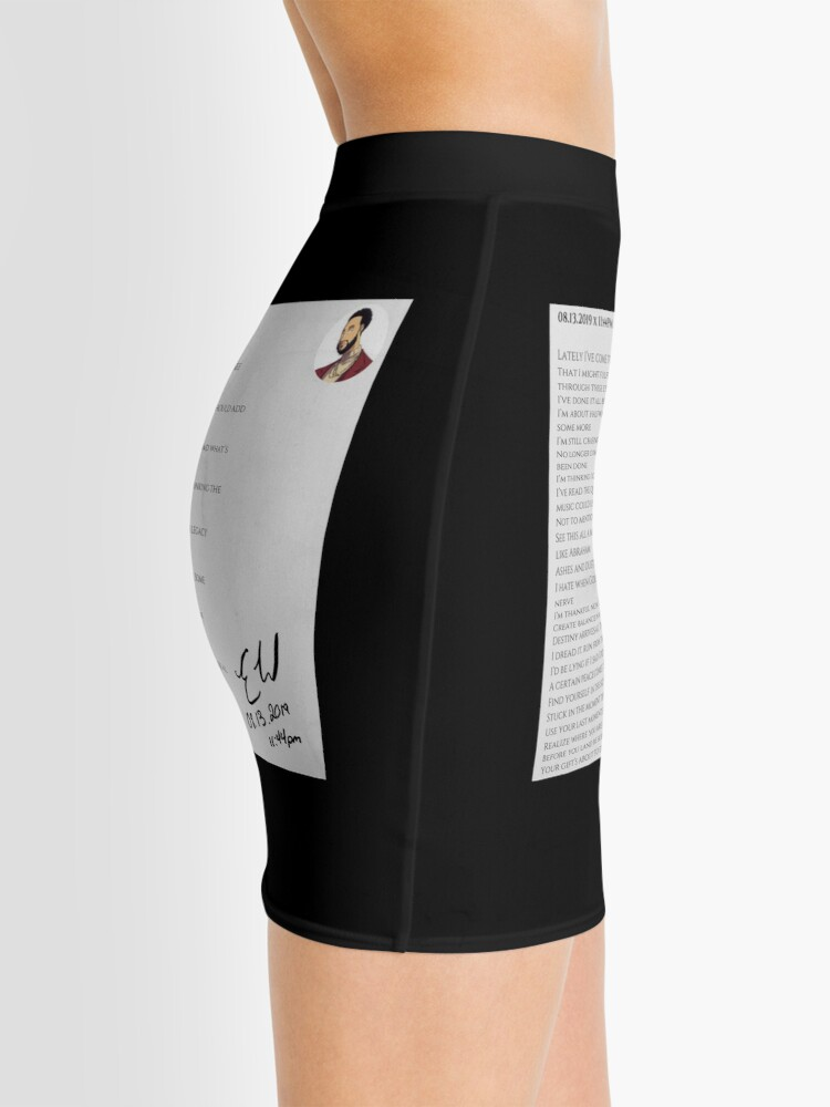 Alternate view of 08.13.2019 x 11:44PM Mini Skirt