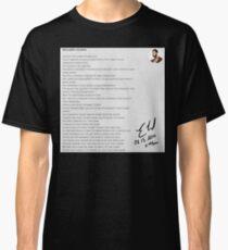 08.13.2019 x 11:44PM Classic T-Shirt