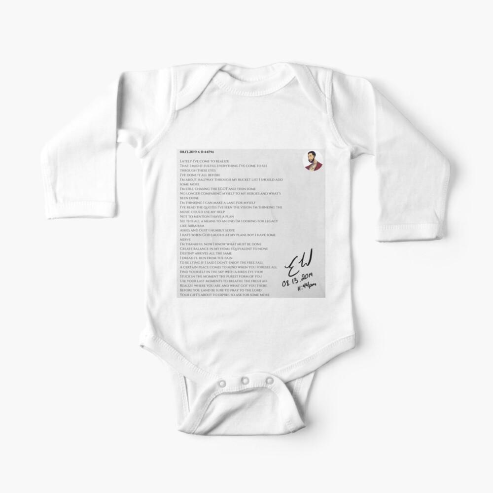 08.13.2019 x 11:44PM Baby One-Piece