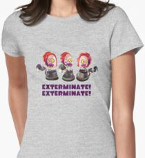 Splatoon! EXTERMINATE, EXTERMINATE! Octobot Women's Fitted T-Shirt