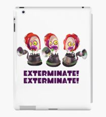 Splatoon! EXTERMINATE, EXTERMINATE! Octobot iPad Case/Skin