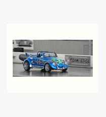 Blue Max Jet Car Art Print