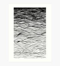 ABOVE THE WATER Art Print