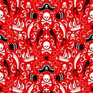 A Pirate's Life Damask by robyriker