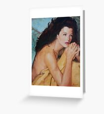 Waking Moment Greeting Card