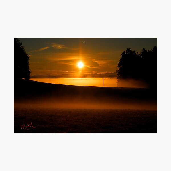 Mystic Morning Photographic Print