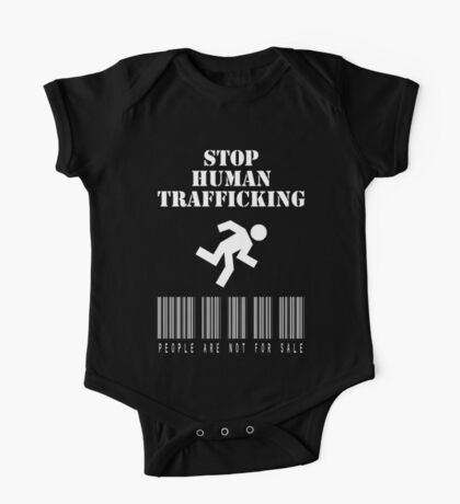 Stop Human Trafficking Kids Clothes