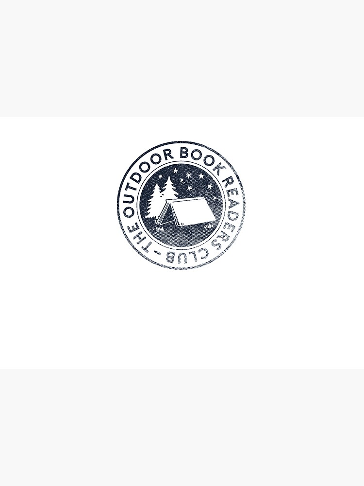 Outdoor Book Readers Club logo by cabinsupplyco