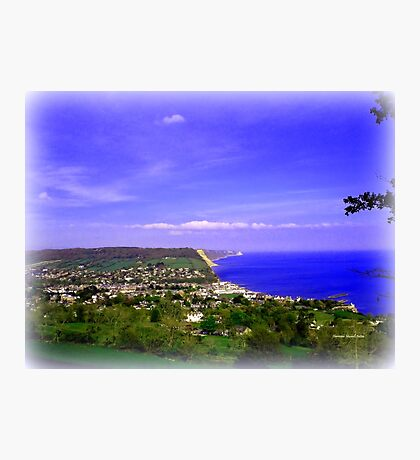 Sidmouth Photographic Print