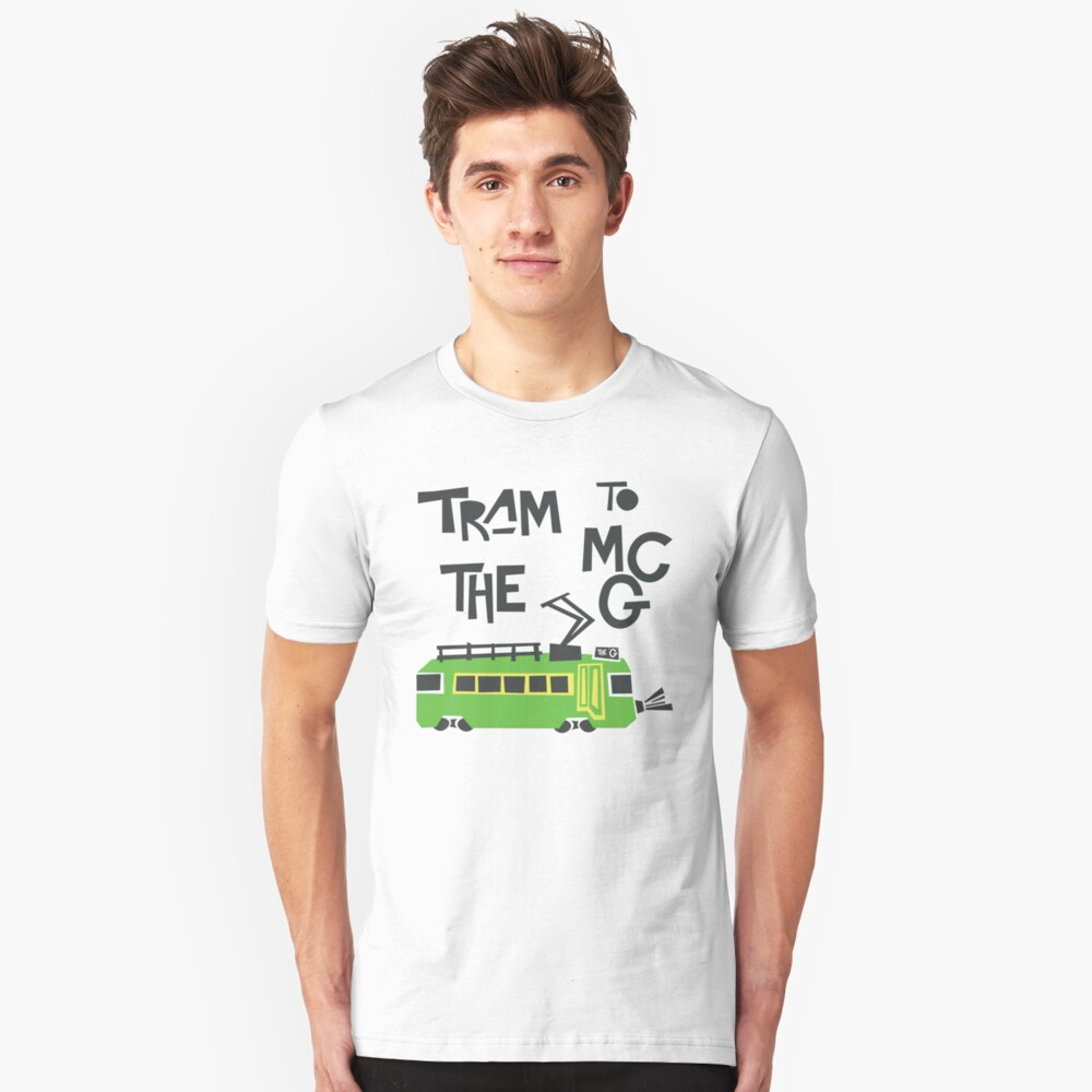 Melbourne Tram Slim Fit T-Shirt