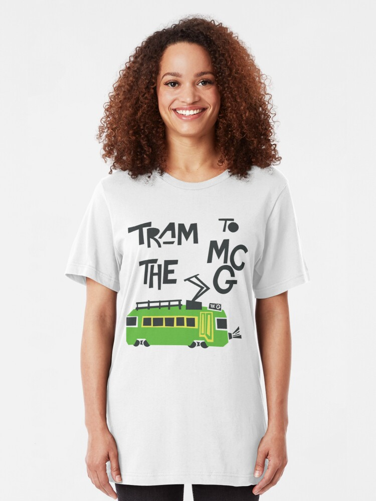 Alternate view of Melbourne Tram Slim Fit T-Shirt