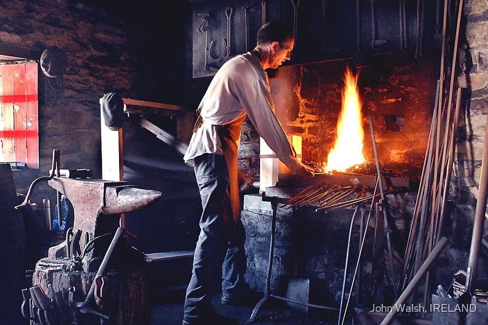 Blacksmith in Killarney, Co Kerry, Ireland by John Walsh, IRELAND