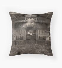 hdr destruction Throw Pillow
